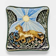 William De Morgan Tiger from our Victoria and Albert Museum collection is based on a tile design by the great William De Morgan. This small kit works beautifully as a needlepoint. Design Museum, Art Museum, Tapestry Kits, The V&a, Needlepoint Kits, Victoria And Albert Museum, Museum Collection, Tile Design, Original Artwork