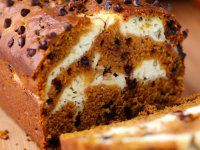 Take your pumpkin bread to the next level. The swirl of cream cheese filling and chocolate chips make this Cream Cheese Pumpkin Bread a must-make fall treat. Find Your Cup of Cake's recipe here. Fall Desserts, Just Desserts, Delicious Desserts, Dessert Recipes, Yummy Food, Cookbook Recipes, Homemade Desserts, Health Desserts, Kitchen Recipes