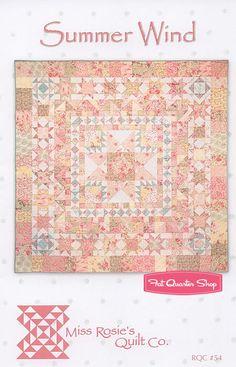 Summer Wind Quilt Pattern Miss Rosie's Quilt Company - Fat Quarter Shop