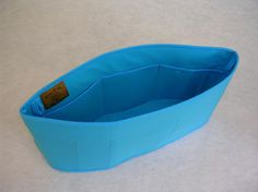 Purse To Go(R)Purse organizer insert transfer liner-Enclosed bottom-Bucket type-Change purses in seconds in pretty turquoise color-large on Etsy, £11.08