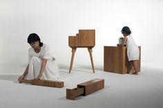 Fibonacci Cabinet by Utopia Architecture & Design