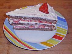 Schnelle Erdbeer - Mascarpone - Torte, ein tolles Rezept aus der Kategorie Torten. Bewertungen: 53. Durchschnitt: Ø 4,6.