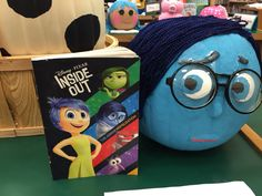 Inside Out Pumpkin Art for our school wide pumpkin patch! Short summary to include writing.
