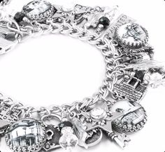 The Haunted House Charm Bracelet