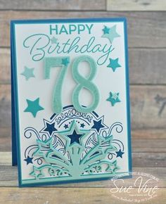 Miss Pinks Craft Spot: Birthday Blast for a special grandfather 100th Birthday Card, Birthday Blast, Cool Birthday Cards, Birthday Numbers, Handmade Birthday Cards, Birthday Greetings, Special Birthday, Birthday Wishes, Card Making Inspiration
