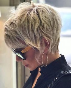 Short Shag Hairstyles, Short Pixie Haircuts, Winter Hairstyles, Short Hairstyles For Women, Halloween Hairstyles, Hairstyle Short, Easy Hairstyles, School Hairstyles, Beautiful Hairstyles