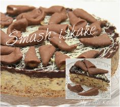 My Little Kitchen: Smash iskake Candy Recipes, Dessert Recipes, Norwegian Food, Norwegian Recipes, Pudding Desserts, Recipe Boards, Little Kitchen, Let Them Eat Cake, Gingerbread Cookies
