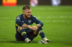 Dario Benedetto of Boca Juniors looks dejected at the end of the. World Library, Bernabeu, First Time, Finals, Madrid, Two By Two, Running, Cannabis, Haircuts