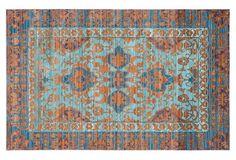 Matisse Rug, Blue/Gold OKL 129-775