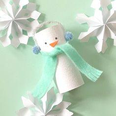 Show details for DIY Snowman Craft