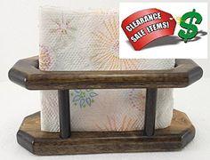 1pc Rich Mahogany Pine Wood Table Caddy -Napkins Holder Mile 9's Kitchen Line http://www.amazon.com/dp/B00G9YATMU/ref=cm_sw_r_pi_dp_6Gimvb06BGF97