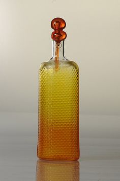 Markku Salo Bottle c.240 mm Weight c.. 400 g.  Signed