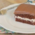 Chocolate Cream-Filled Cake - Just like Little Debbie Swiss Cake Rolls - For Mawmaw!