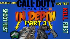 Black Ops 3 Testing Fast Hands & Quickdraw|Fastest Aim Possible|ADS Test...
