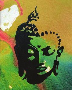 Budha Painting, Zen Painting, Art Painting Gallery, Indian Art Paintings, Modern Art Paintings, Buddha Artwork, Canvas Painting Tutorials, Madhubani Painting, Mandala Art