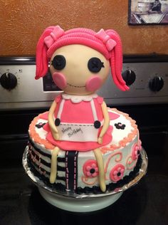Lalaloopsy cake!!!