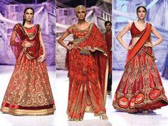 #Red #lengha #bridal #bride #wedding #indiabridalweek