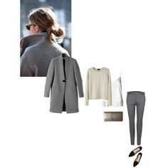 A fashion look from December 2014 featuring A.P.C. cardigans, and STELLA McCARTNEY pants. Browse and shop related looks.