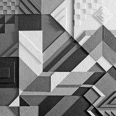 MWM Graphics | Matt W. Moore Abstract Paper, Design Art, Sculptures, Design Inspiration, Art 3d, Quilts, Inspire, Painting, Graphics
