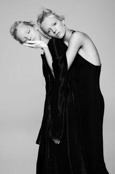 Sasha Luss & Daria Strokous by Pierre Debusschere for V Magazine #94, Spring 2015.
