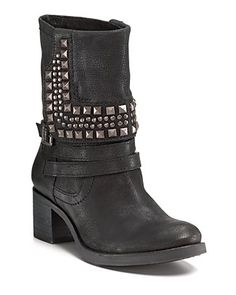 "VINCE CAMUTO ""Donato"" Moto Boots - Boots - Shoes - Shoes - Bloomingdale's - StyleSays"