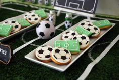 Soccer Themed Birthday Celebration - Birthday Party Ideas for Kids and Adults Soccer Birthday Cakes, 9th Birthday Parties, Football Birthday, Sports Birthday, Soccer Party, Birthday Celebration, Soccer Theme Parties, Soccer Banquet, 5th Birthday
