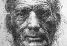 Kumi Yamashita Beckett drawing made by rubbing passages from his notebook