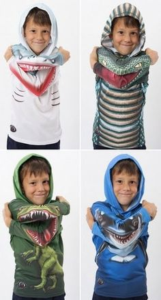 I so wish these came in adult sizes. I would rock the hell out of the T-Rex!