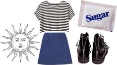 """""""S U G A R"""" by puttane ❤ liked on Polyvore"""