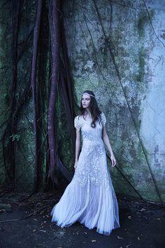 Vestido de noiva boho ( Vestido: Martu | Foto: Yuri Sardenberg e Aninha Monteiro )