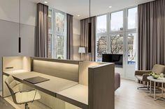 NH Collection阿姆斯特丹大酒店Krasnapolsky,阿姆斯特丹,頂級客房,景觀,客房