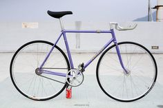 Reminton NJS Purple on velospace, the place for bikes Baby Bike, Fixed Gear, Bicycles, Cycling, Track, Purple, Beauty, Veils, Red