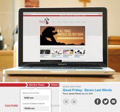 Grace Fellowship Chapel website designed by fatrabbit CREATIVE.