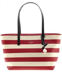 striped Kate Spade tote http://rstyle.me/~2ishG
