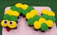 Catapillar Cupcake