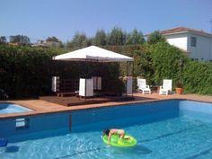 Cenador chill out junto a la piscina | Hacer bricolaje es facilisimo.com