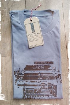 #BETYPICAL #T-shirt  BE THE MESSAGE  € 27.50    color: grey  sizes: S / M / L  quality: 100% cotton