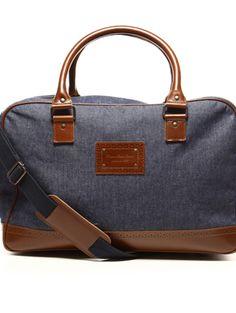 Sac Jean et cuir                                                                                                                                                                                 Plus Sac Week End, Couture, Mac, Stuff To Buy, Sewing, Book, Fashion, Shoe, Denim Bag