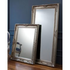 Gallery Harrow Leaner Mirror & Reviews   Wayfair UK 115x85x7cm £101.99.  Bed 2 is relatively calm so could perhaps a little ornate finish and at this price its good value.