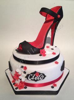 Shoe & Bag Cake Stilettos, High Heels, Shoe Cupcakes, Cupcake Cakes, High Heel Kuchen, High Heel Cakes, Fashionista Cake, Handbag Cakes, Purse Cakes