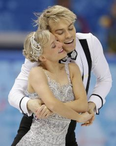 DAY 10:  Penny Coomes and Nicholas Buckland of Britain compete during Figure Skating Ice Dancing Short Program http://sports.yahoo.com/olympics