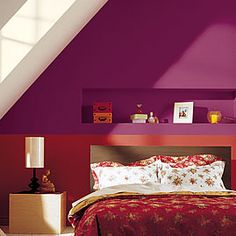 Chambre prune taupe beige | Inspirations Chambre | Pinterest ...