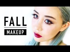 Fall Makeup Tutorial 2015 ♥ Asian and Hooded Eyes ♥ Berry Lips ♥ Wengie - YouTube