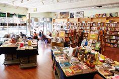 BLUESTOCKINGS   collectively owned and volunteer powered bookstore, fair trade cafe, activist center 172 Allen Street, NYC           11am-11pm daily