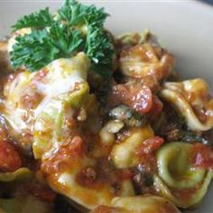 Cheesy Italian Tortellini Allrecipes.com