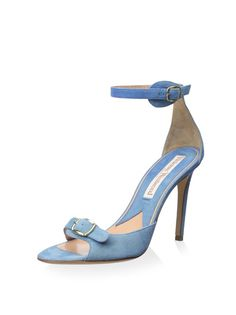 www.myhabit.com : Vivienne Westwood Ankle Strap Sandal Chic sandal features dual adjustable buckles and a wrapped heel