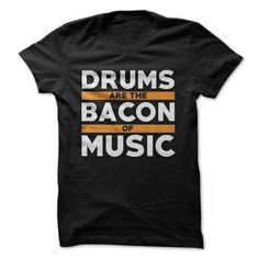 Bacon is the best. Drums are also the best. They each, in their own way, bring a…