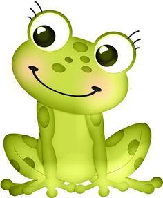 Frog illustration on frogs frog art and cute clipart - ClipArt Best Cartoon Kunst, Cartoon Art, Cute Cartoon, Funny Frogs, Cute Frogs, Frog Pictures, Cute Pictures, Frosch Illustration, Frog Drawing