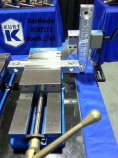 Canadian Machine Tool Show in Toronto, ONT, Canada Sept. 30-Oct. 3, 2013 - Booth #2741 - Kurt SideWinder - The show is being held at the International Centre in Mississauga, Ontario and is sponsored by the Society of Manufacturing Engineers
