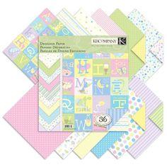 Zestaw papierów ozdobnych 30x30cm - Słodkie maleństwo | Zestawy do scrapbooking 'u \ Papier ozdobny Papier Ozdobny \ Uniwersalny Producenci \ KandCompany Papier Ozdobny \ Dziecięcy